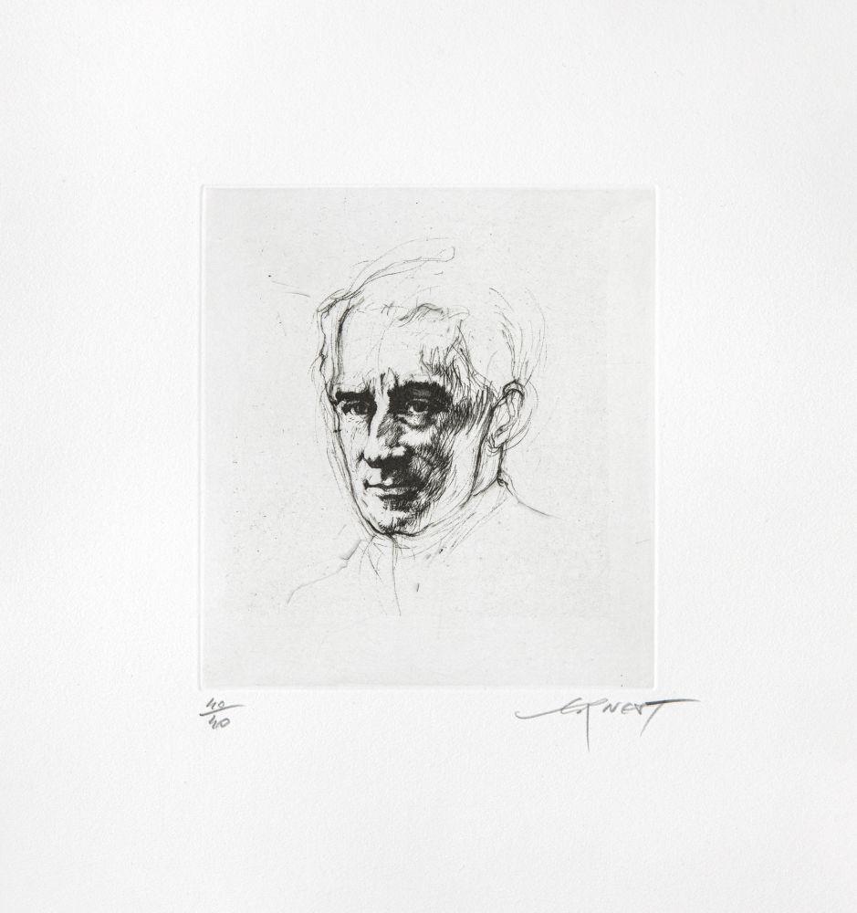 Etching Pignon-Ernest - Ravel