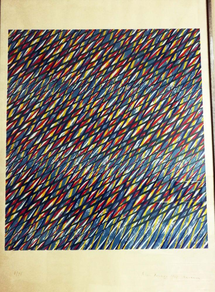 Lithograph Dorazio - Ravenna