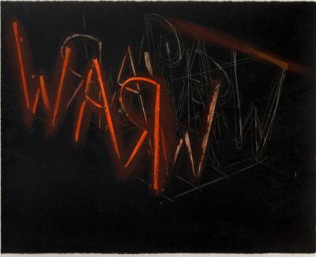 Lithograph Nauman - Raw War