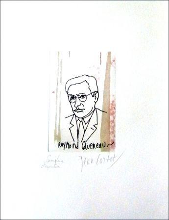 Engraving Cortot - Raymond Queneau