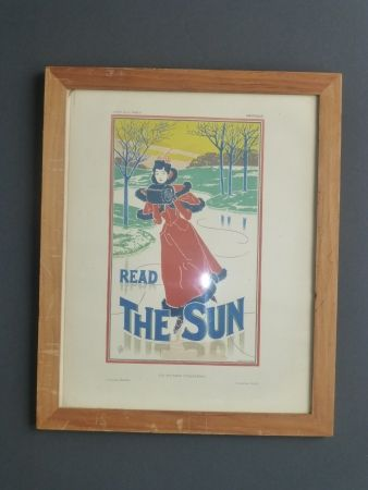Lithograph Read - Read the sun