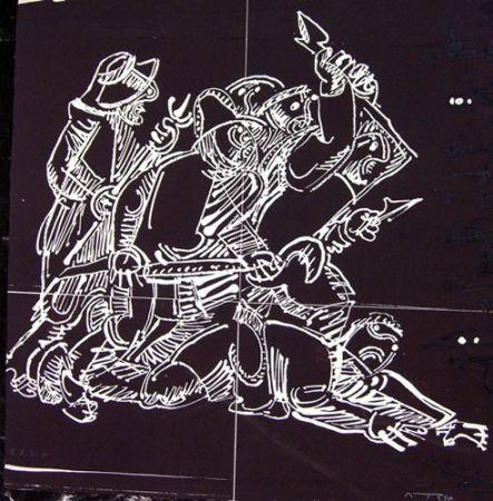 Engraving Ortega - REBELIÓN
