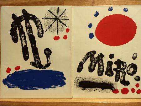 Illustrated Book Miró (After) - Recent paintings