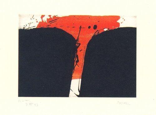 Etching Borrell Palazón - Records de paisatge-3