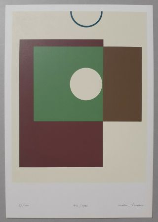 Screenprint Huber - Rectangles et cercles