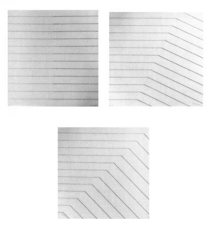 Screenprint Morellet - Recto-verso