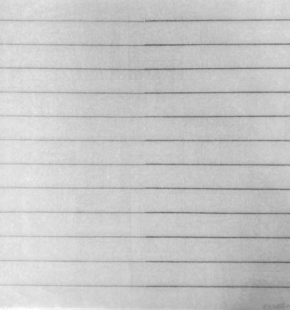 Screenprint Morellet - Recto-verso 180°, 2011