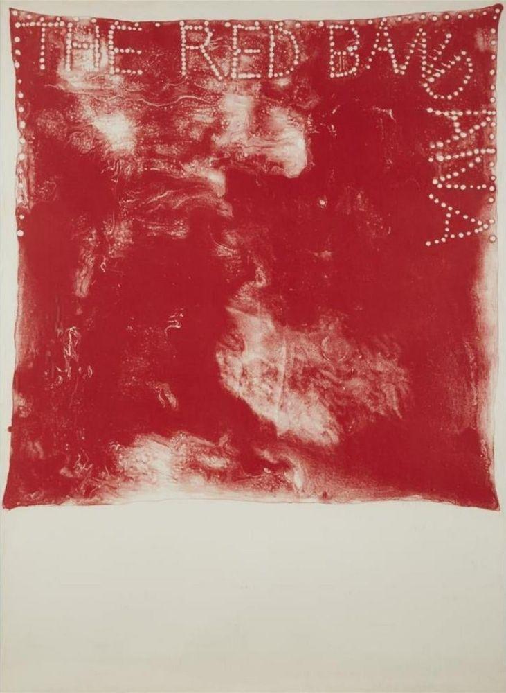 Lithograph Dine - Red Bandana