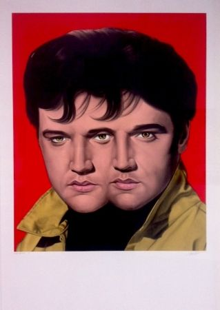 Monotype English - Red Elvis