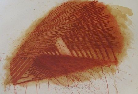 Lithograph Stackhouse - Red Encounterings