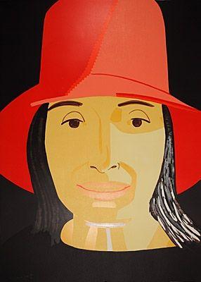 Woodcut Katz - Red Hat Ada