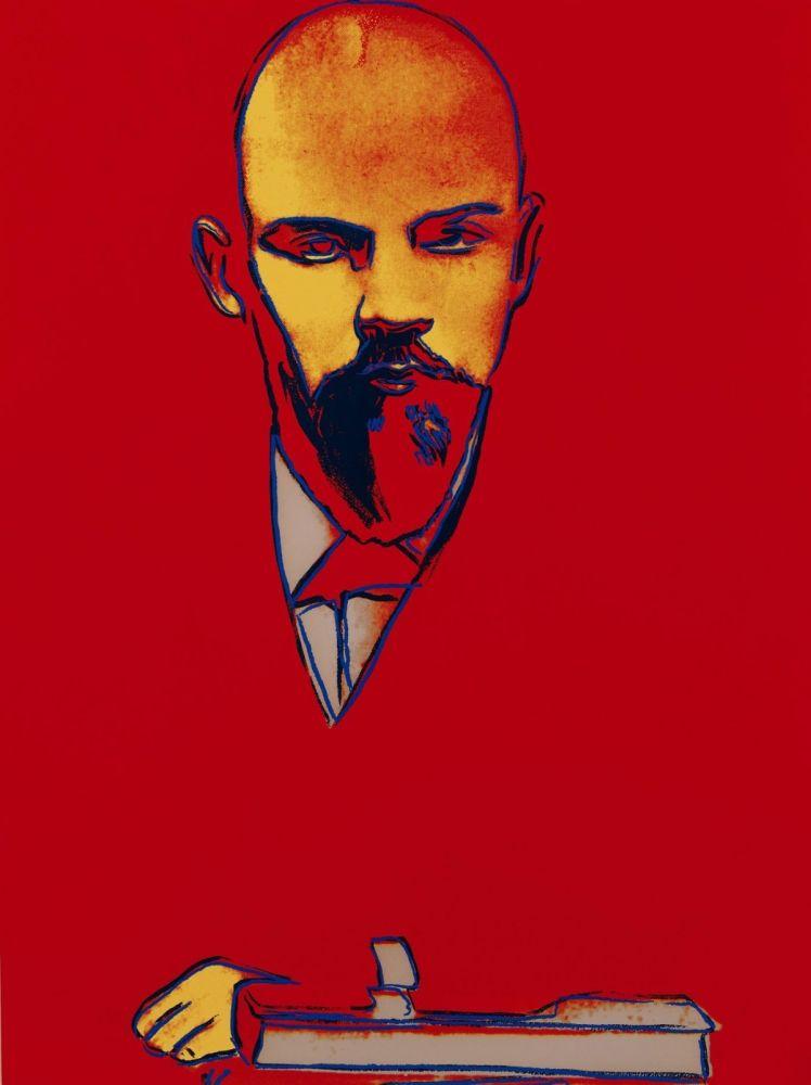 Screenprint Warhol - Red Lenin (FS II.403)