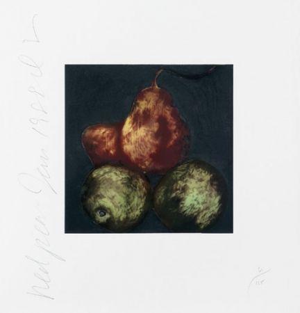 Screenprint Sultan - Red Pears