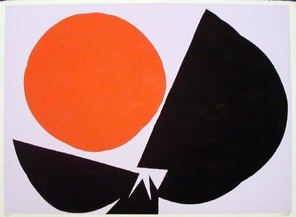 Screenprint Feito - Red Sun