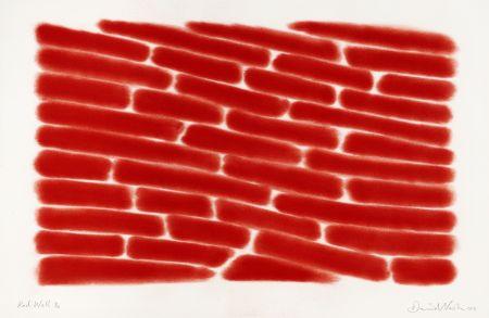 Pochoir Nash - Red wall