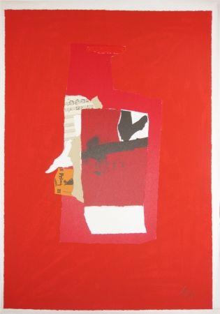 Screenprint Motherwell - Redness of Red