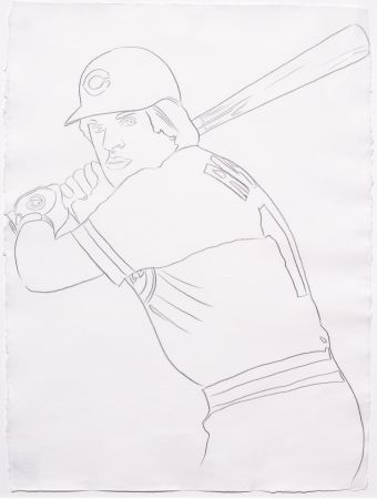 No Technical Warhol - Reds - Pete Rose 1