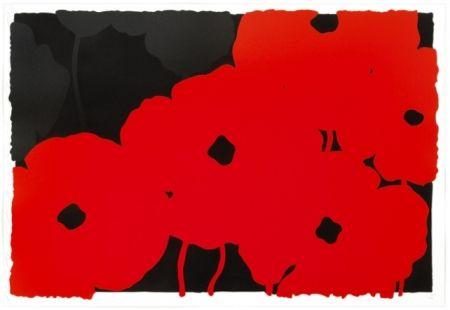 Screenprint Sultan - Reds And Blacks