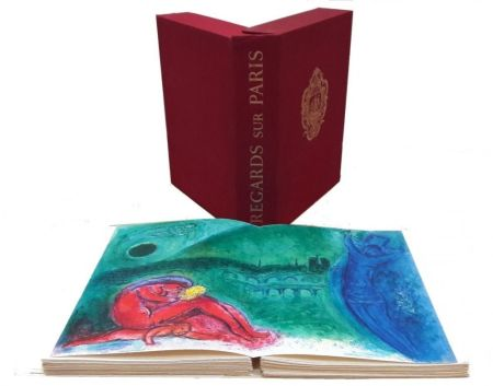 Illustrated Book Chagall - Regard Sur Paris
