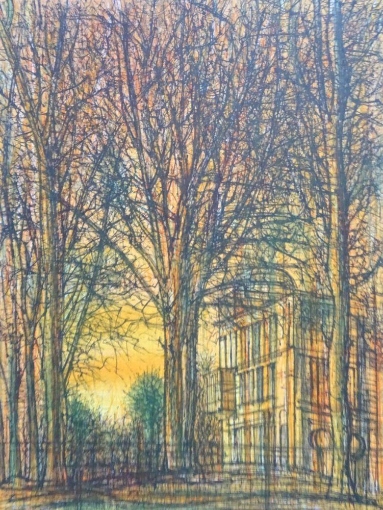 Lithograph Carzou - Regards sur Paris 2