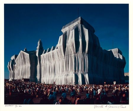 Photography Christo - Reichstag Mappe I, 16 Uhr