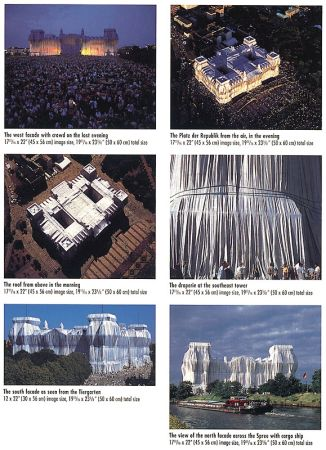 Photography Christo - Reichstag Mappe II, 6 Blatt