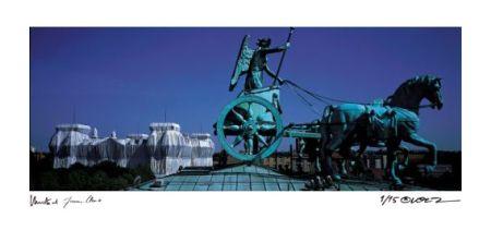 Photography Christo - Reichstag Quadriga