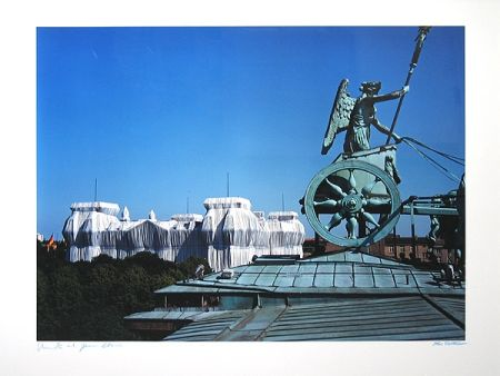 Photography Christo - Reichstag/Berlin I Wrapped