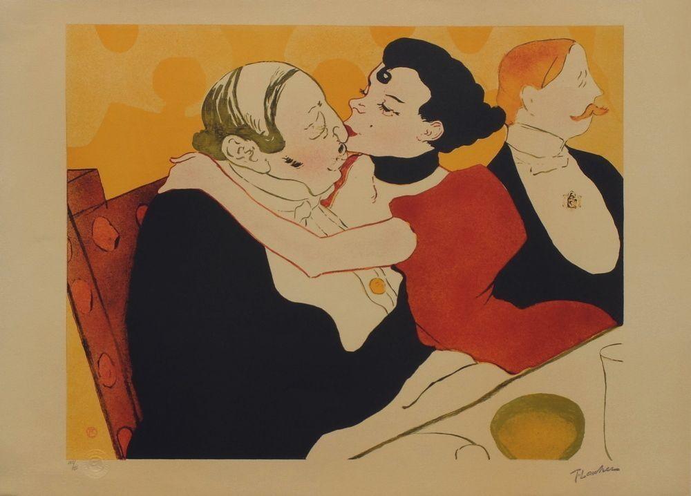 Lithograph Toulouse-Lautrec - Reine de joie