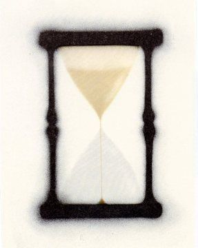 Lithograph Ruscha - Reloj de arena