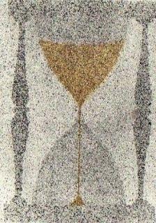 Etching And Aquatint Ruscha - Reloj de arena