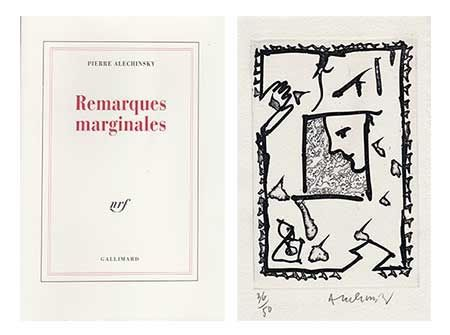 Illustrated Book Alechinsky - Remarques marginales