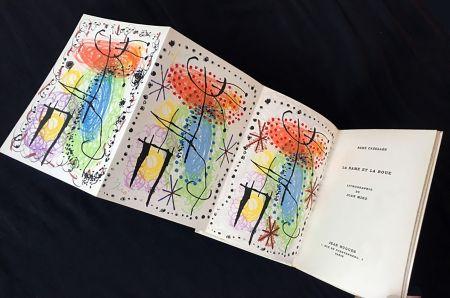 Illustrated Book Miró - René Cazelles. LA RAME ET LA ROUE. Lithographie de Joan Miro. Paris, 1960