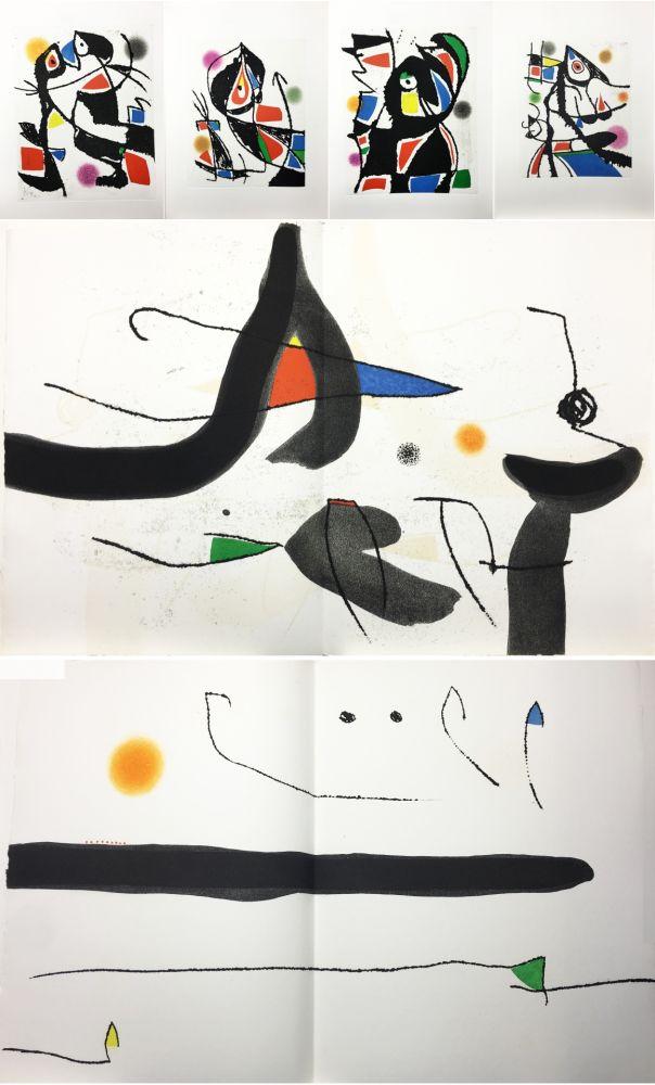 Illustrated Book Miró - René Char : LE MARTEAU SANS MAÎTRE. 23 gravures en couleurs (1976)