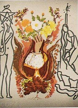 Lithograph Dali - Renaissance