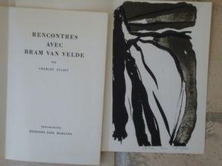 Illustrated Book Van Velde - Rencontres avec Bram Van Velde