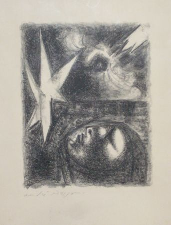 Lithograph Masson - Resurrection