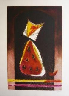 Etching And Aquatint De Juan - Retrato de Luisito en forma de pera