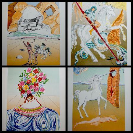 Lithograph Dali - Retrospective Complete Suite