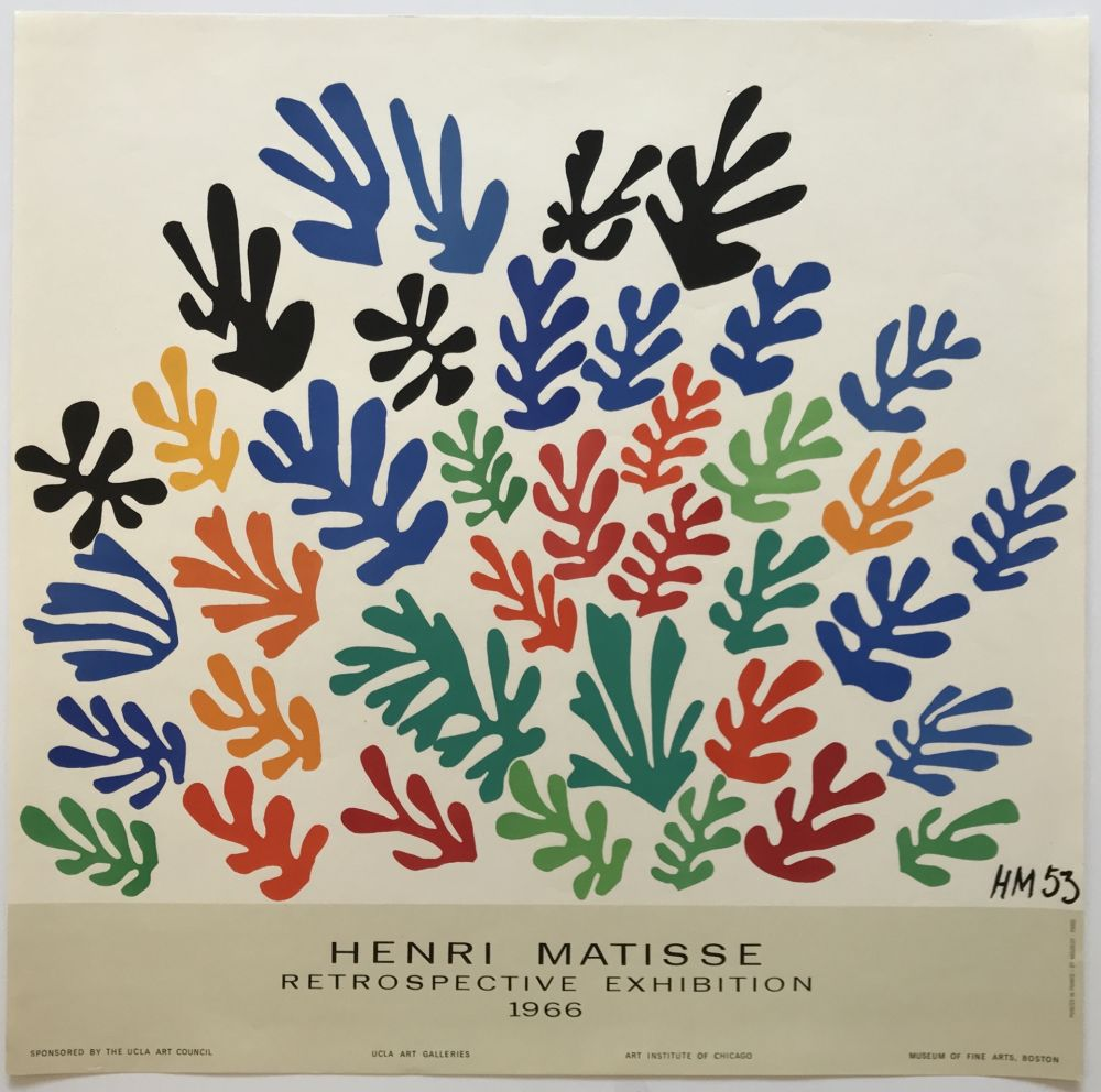 Poster Matisse - Retrospective Exhibition