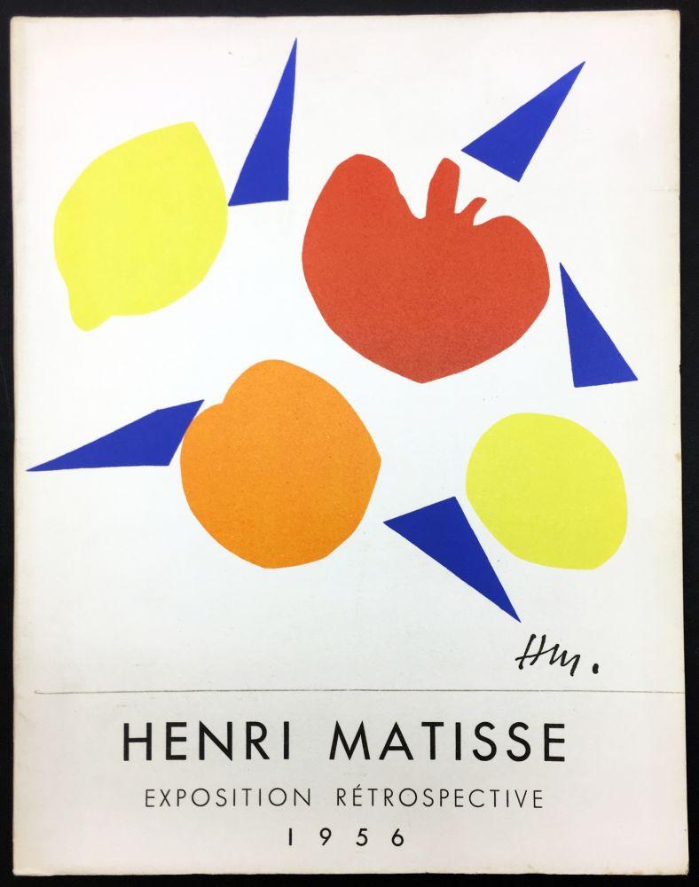 Illustrated Book Matisse - RETROSPECTIVE MATISSE 28 Juillet - 18 Novembre 1956 (Catalogue).