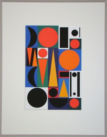 Screenprint Herbin - Ri, 1950