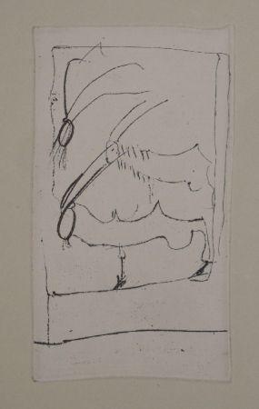Etching Beuys - Riesenziegen