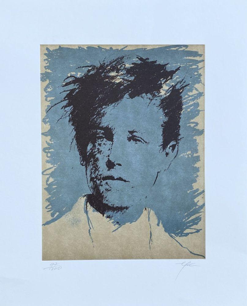 Lithograph Pignon-Ernest - Rimbaud