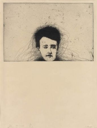 Etching Dine - Rimbaud