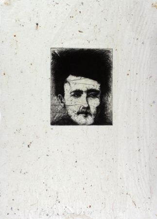 Etching Dine - Rimbaud - Alchemy on Japanese Paper