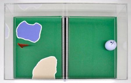 Lithograph Leirner - Rio 2016 - Golf
