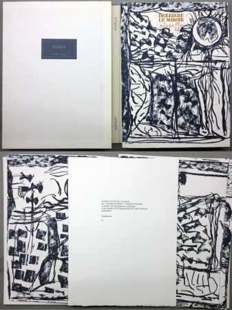 Illustrated Book Riopelle - RIOPELLE. DERRIÈRE LE MIROIR N° 232. Janvier 1979. TIRAGE DE LUXE SUR ARCHES.
