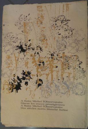 Lithograph Arman - RITOURNELLE