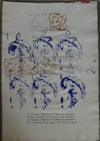 Illustrated Book Arman - Ritournelle pour Saint Michel l'Observatoire